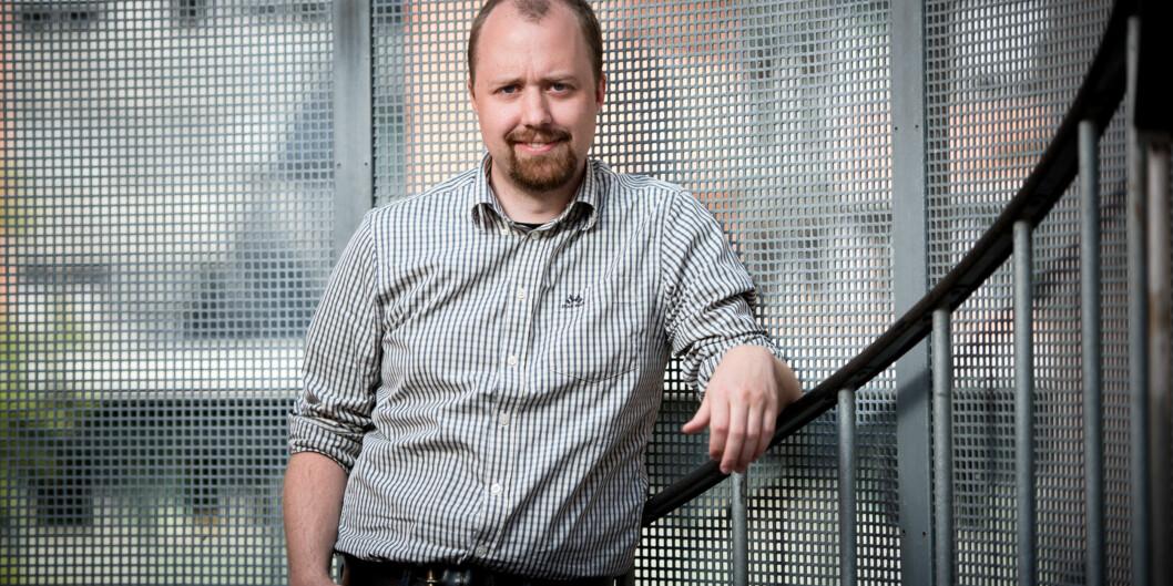 Steinar Olberg fagpolitisk ansvarlig i studentparlamentet på HiOA. Foto: Skjalg Bøhmer Vold