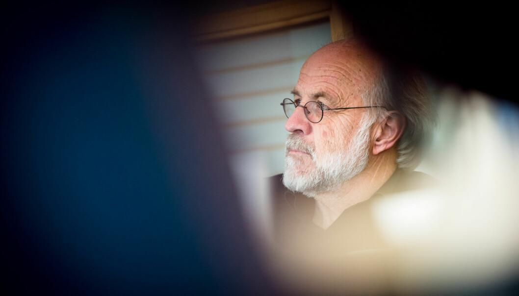 Petter Aasen rektor ved Høgskolen i Buskerud og Vestfold. Foto: Skjalg Bøhmer Vold