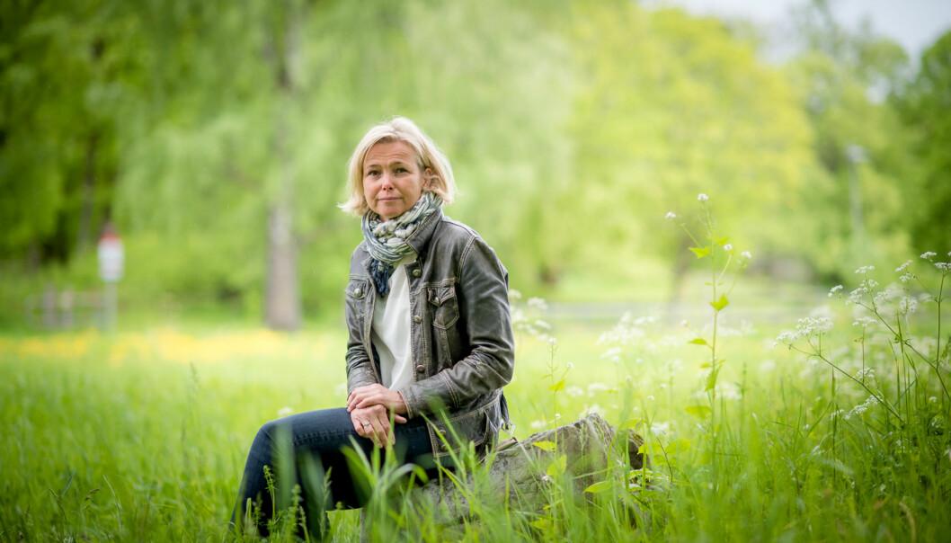 Kari Toverud Jensen skal ha et sabbatsår, og blant annet være i seks måneder på University of Edinburgh, etter at hun går av som rektor på Høgskolen i Oslo og Akershus 31.juli. Foto: Skjalg Bøhmer Vold