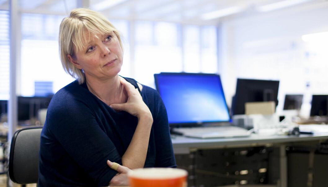 Førsteamanuensis Anne Hege Simonsen underviser og forsker på journalistikk ved OsloMet. Foto: Wanda Nathalie Nordstrøm