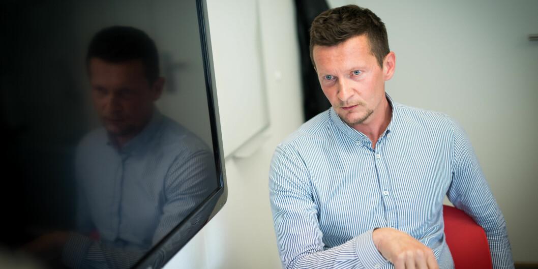 """Terje Mørland er direktør i <span class=""""caps"""">NOKUT</span>. Han reagerer på departementets økte krav kombinert med lavere budsjetter, og får støtte både fra sin styreleder og Arbeiderpartiets utdanningspolitiske talsperson, MarianneAasen. Foto: Skjalg Bøhmer Vold"""
