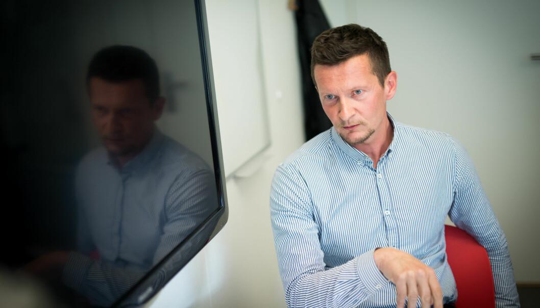 Terje Mørland er direktør i NOKUT. Han reagerer på departementets økte krav kombinert med lavere budsjetter, og får støtte både fra sin styreleder og Arbeiderpartiets utdanningspolitiske talsperson, MarianneAasen. Foto: Skjalg Bøhmer Vold