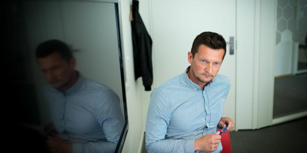 Direktør i NOKUT Terje Mørland synes det er synd at strykprosenten hos sykepleiestudentene holder seg høy i det viktige faget Anatomi, fysiologi og biokjemi. Foto: Skjalg Bøhmer Vold