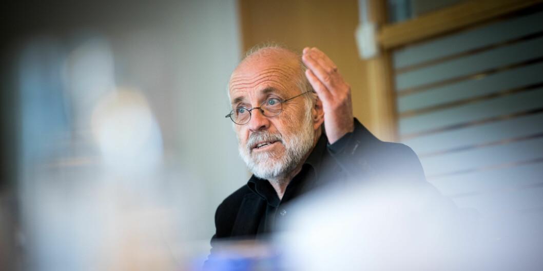 """Styreleder Petter Aasen er enig med en ekstern evaluering som sier at potensialet ikke er tatt ut etter at forskningsinstituttene <span class=""""caps"""">AFI</span> og <span class=""""caps"""">NOVA</span> ble en del av Høgskolen i Oslo ogAkershus. Foto: Skjalg Bøhmer Vold"""