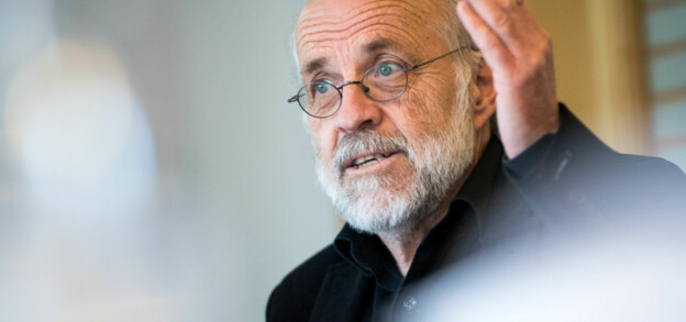 Petter Aasen rektor ved Universitetet i Sørøst-Norge, som mottar mer støtte til å søke om EU-midler enn de får tilbake for søknadene sine. Foto: Skjalg Bøhmer Vold