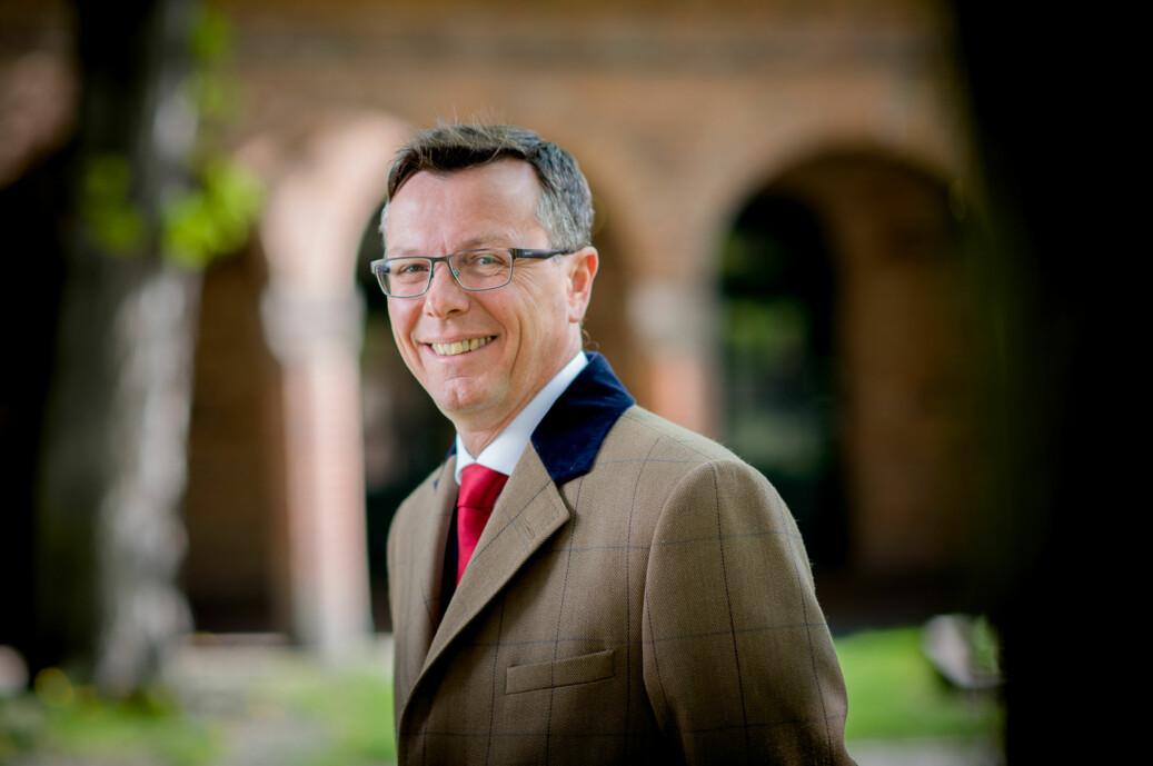Rektor på Universitetet i Bergen Dag Rune Olsen. Foto Skjalg Bøhmer Vold