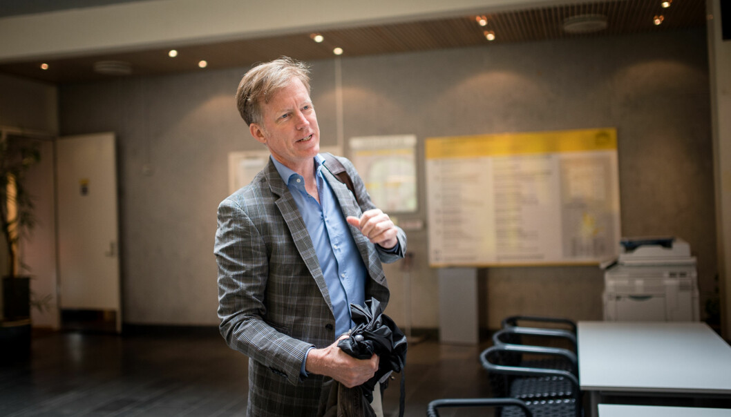 Fremtidig rektor på HiOA Curt Rice Foto: Skjalg Bøhmer Vold
