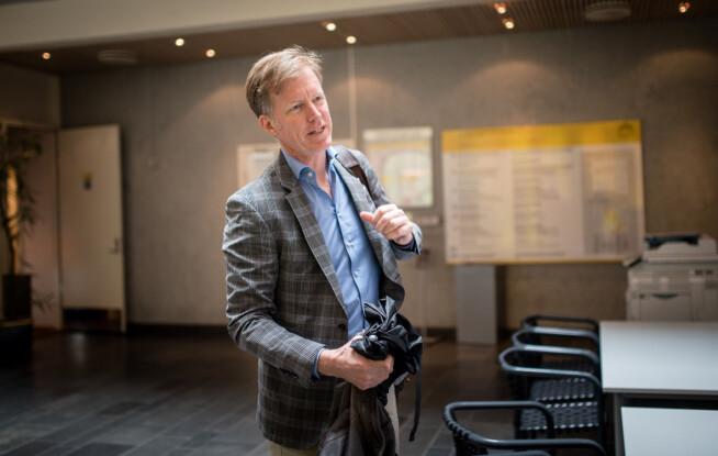 Rektor Curt Rice, OsloMet. Foto: Skjalg Bøhmer Vold