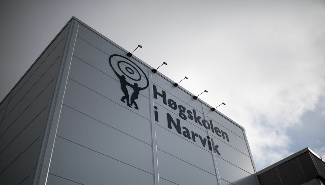 Høgskolen i Narvik ble historie etter at de fusjonerte med UiT Nroges arktiske universitet. Foto: Skjalg Bøhmer Vold