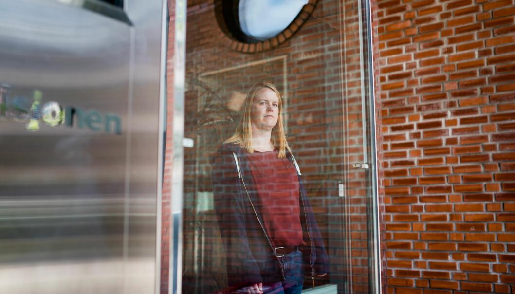 Hanne Bruvik ved HiOA reagerer på villende stemmeseddel i valg av ansattrepresentant tilhøgskolestyret. Foto: Skjalg Bøhmer Vold