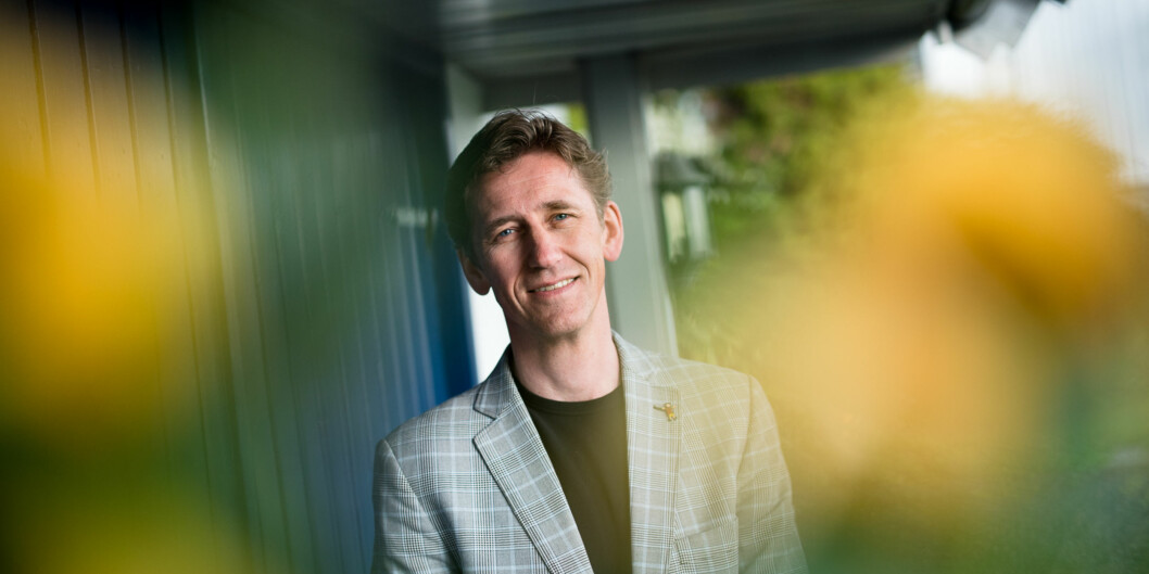 Egil Trømborg (50) skal lede fakultetet ved Høgskolen i Oslo og Akershus som har slitt med store arbeidsmiljøkonflikter i administrasjonsavdelingen sisteår. Foto: Skjalg Bøhmer Vold