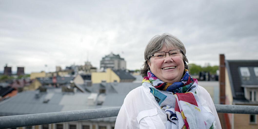 Kari Kildahl er skikkethetsansvarlig på Høgskolen i Oslo og Akershus og foreleser om skikkethet både lokalt ognasjonalt. Foto: Cicilie S. Andersen