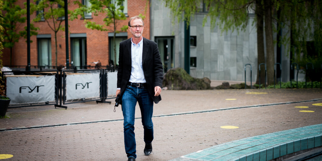 Knut Patrick Hanevik, dekan ved Fakultet for lærerutdanning og internasjonale studier, sier at HiOA sin lærerutdanning allerede er best påmye. Foto: Skjalg Bøhmer Vold