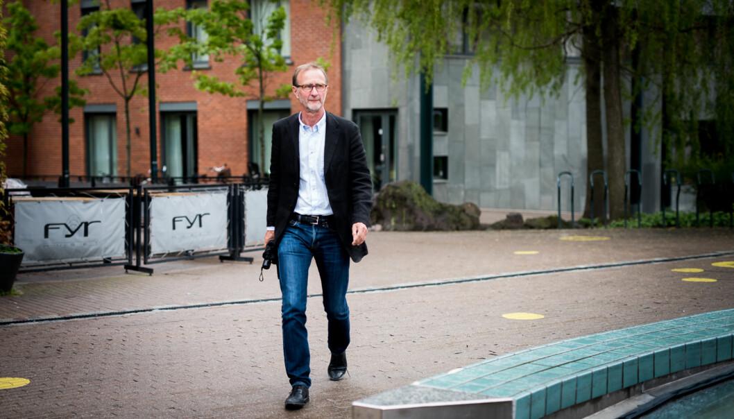 Knut Patrick Hanevik, dekan ved Fakultet for lærerutdanning og internasjonale studier Foto: Skjalg Bøhmer Vold