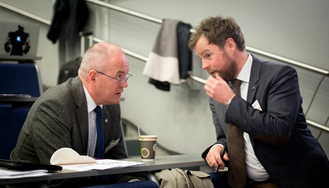 Gunnar Bovim og NTNU er enig med 36 andre institusjoner i at kunnskapsministerens forslag om normalmodell med ansatt rektor er det beste for universiteter oghøgskoler. Foto: Skjalg Bøhmer Vold