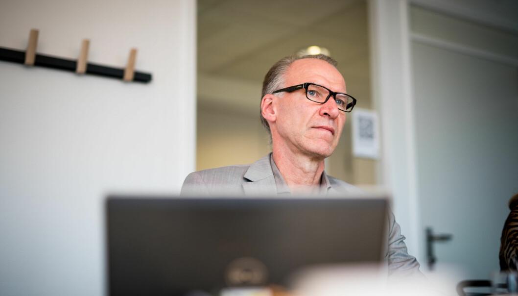— Det erogsåslik at professorer, dosenter og forsker1harvært en prioritert gruppe i de siste lønnsforhandlingeneog de har kommet bedre ut enn andre grupper, inklusive ledere, sier HR-direktør ved HiOA, Geir Haugstveit, til fagforeningenes kritikk av høyelederlønninger. Foto: Skjalg Bøhmer Vold