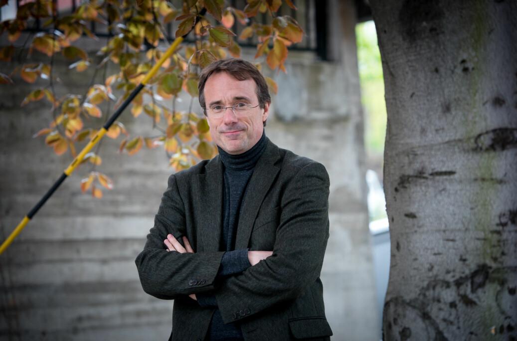 Rektor ved Høgskulen i Volda, Johann Roppen. Foto: Skjalg Bøhmer Vold