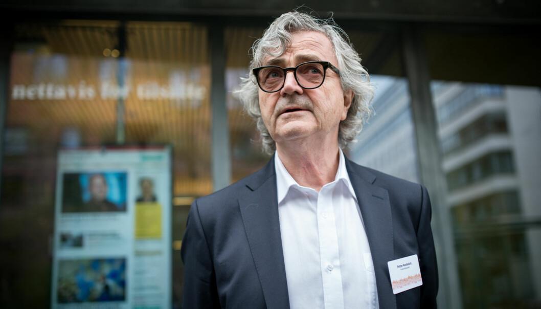 Leder i Forskerforbundet Petter Aaslestad Foto: Skjalg Bøhmer Vold