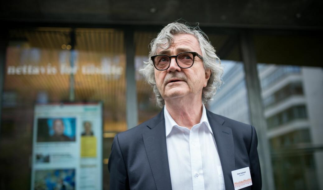 Leder i Forskerforbundet Petter Aaslestad vil at regjeringen skal skrote arealnormen på 23 kvadratmeter per ansatt. Foto: Skjalg Bøhmer Vold
