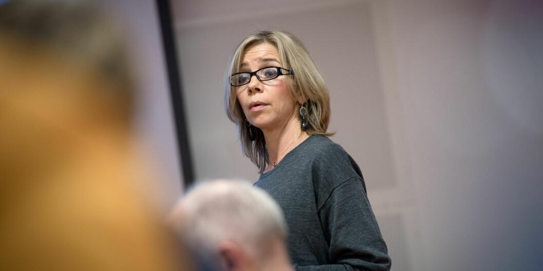 Dekan på helsefag ved HiOA, Nina Waaler, har prøvd å bli rektor ved høgskolen to ganger. I dag ble det kjent at hun søker prorektorjobben forutdanning. Foto: Skjalg Bøhmer Vold