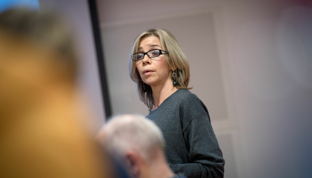 Dekan Nina Waaler på helsefag sitter i innstillingsutvalget for nyeinstituttledere. Foto: Skjalg Bøhmer Vold