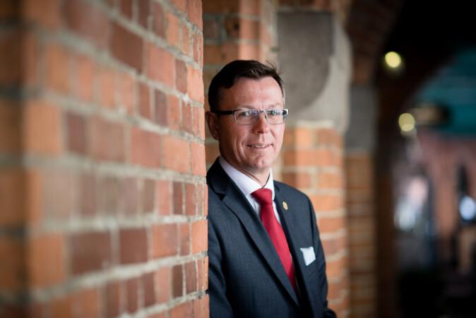 Rektor på Universitetet i Bergen, Dag Rune Olsen. Foto: Skjalg Bøhmer Vold