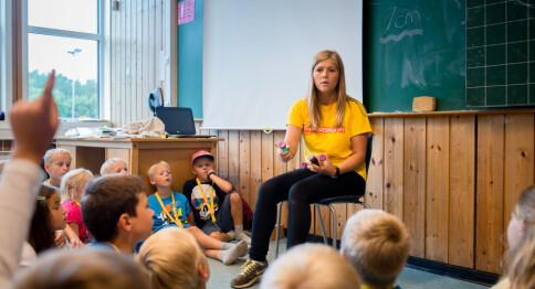 Beholder tredeling av lærerutdanning