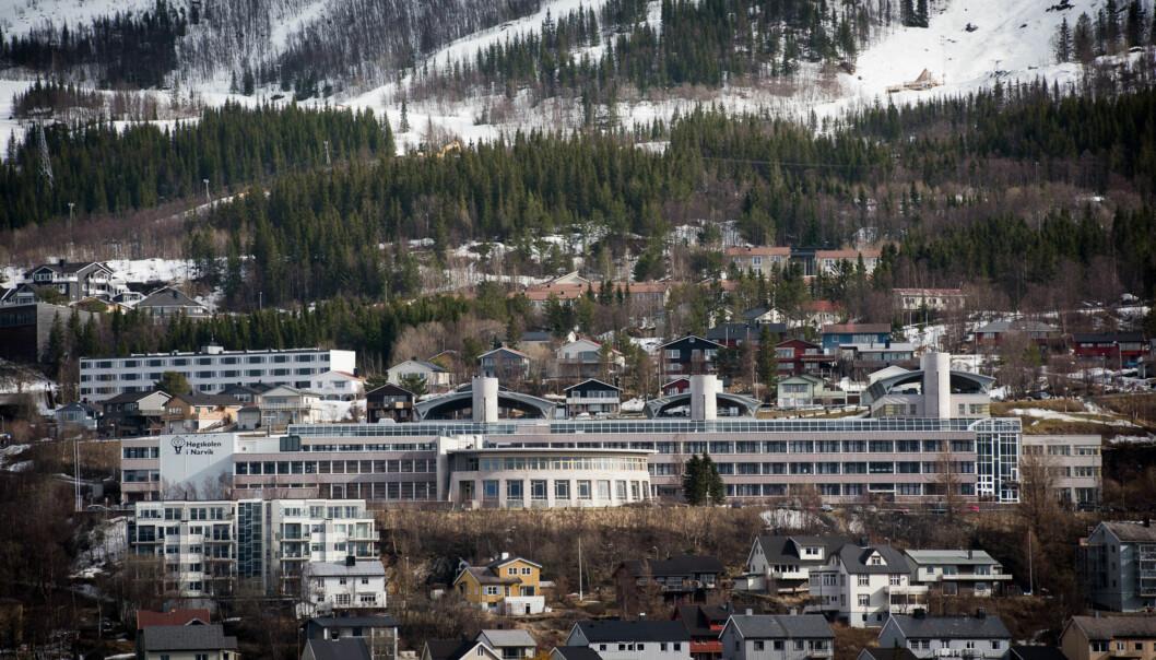 Høgskolen i Narvik Foto: Skjalg Bøhmer Vold