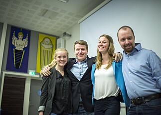 Nye studentledere på HiOA