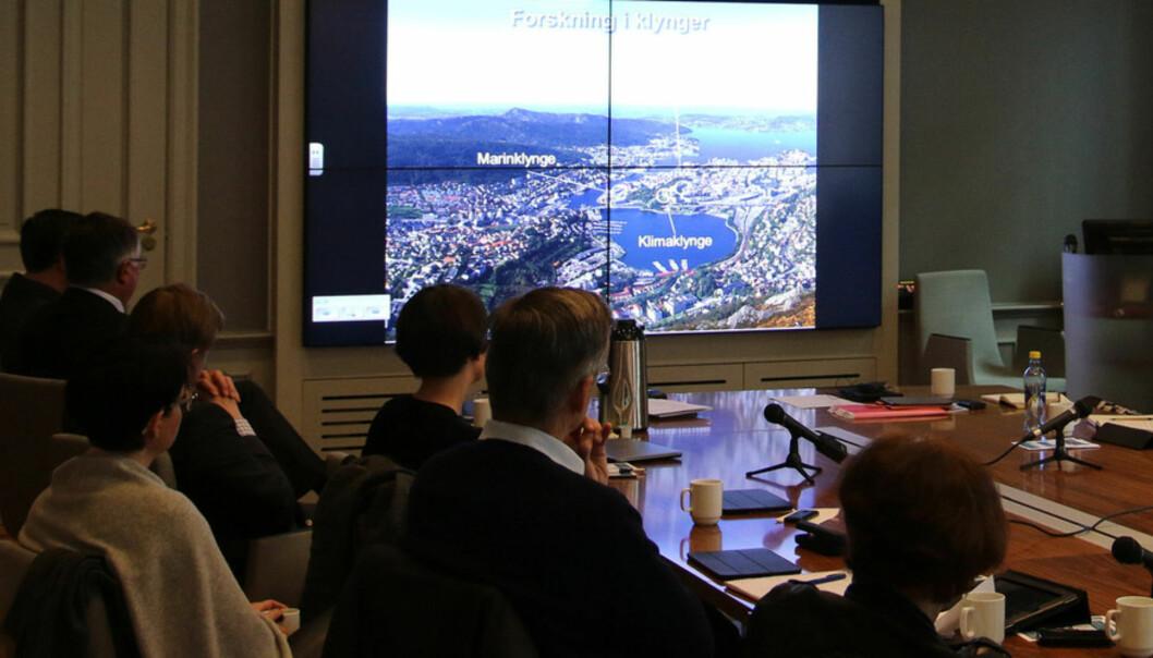 Universitetsstyret i Bergen ønsker ingen utredning om fusjon med Høgskolen iBergen.