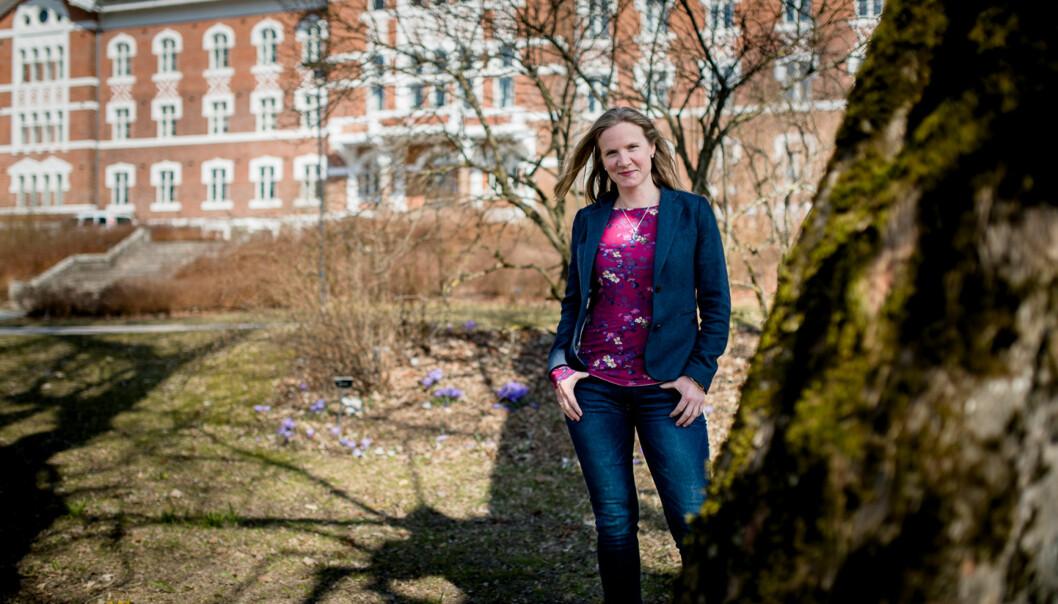 Rektor ved Norges miljø- og biovitenskapelige universitet (NMBU) Mari Sundli Tveit. Foto: Skjalg Bøhmer Vold