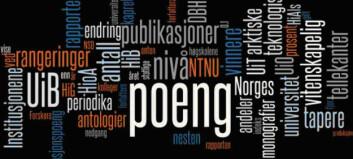 8 forslag til revurdering av publiseringsindikatoren