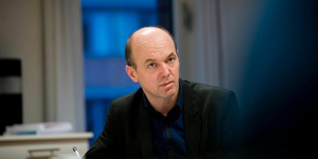 Viseadministrerende direktør i Simula, Kyrre Lekve, foreslås som eksternt styremedlem ved Høgskolen i Innlandet. Foto: Skjalg Bøhmer Vold
