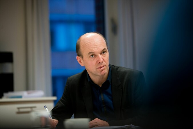 Simula-direktør, Kyrre Lekve, tar til orde for en ordning som sikrer finansiering lenger enn 10 år. Foto: Skjalg Bøhmer Vold