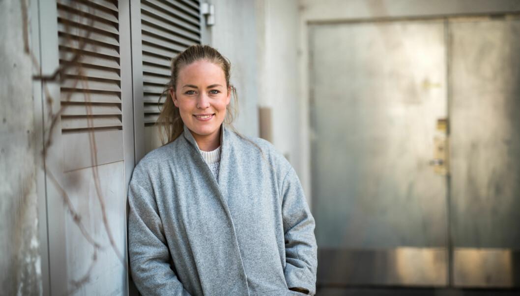 Norsk studentorganisasjon med Therese Eia Lerøen i spissen vil ha debatt om studenthybler inn i debatten rundtkommunevalget. Foto: Skjalg Bøhmer Vold