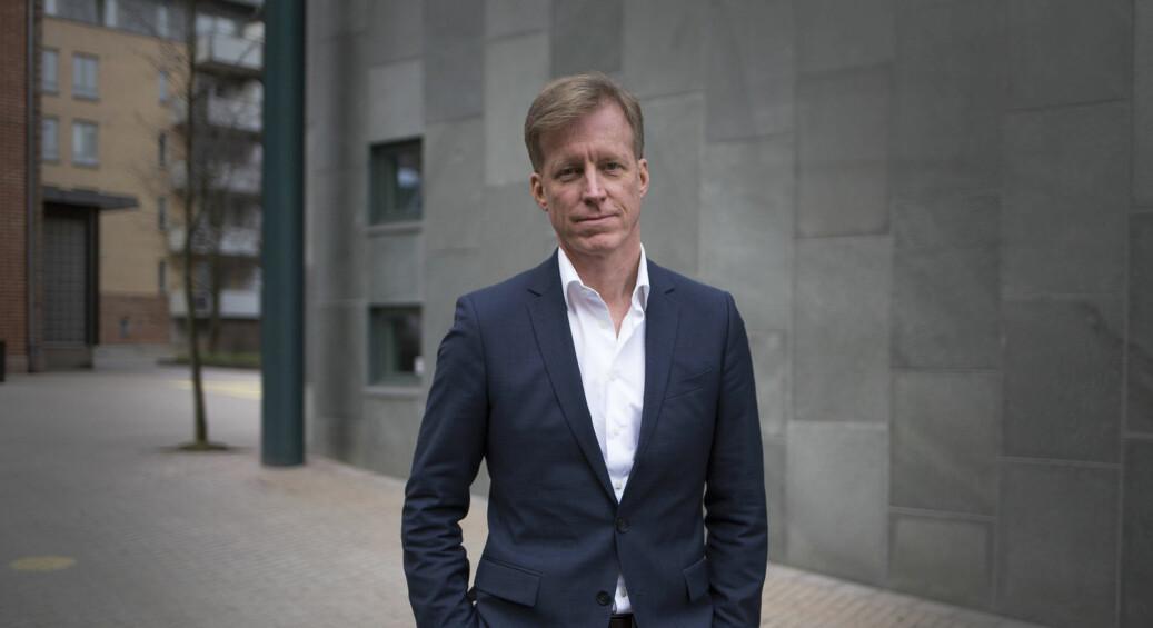 Curt Rice, er rektor ved OsloMet — storbyuniversitetet. Foto: Øyvind Aukrust