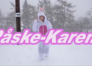 Hvor landet Påske-Karen i siste hopp?