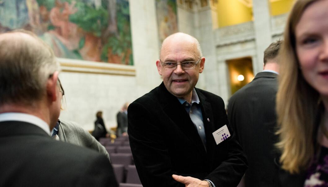 — Vi har klaget og purret på departementet to-tre ganger de siste ukene uten at det har hjulpet, sier rektor Ole-Gunnar Søgnen ved Høgskolen iBergen.