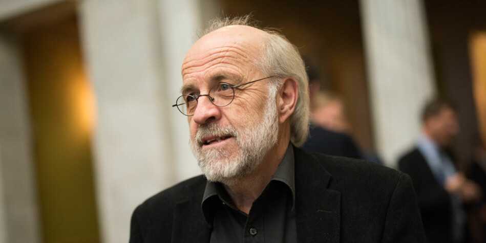 Petter Aasen, rektor ved Universitetet i Sørøst-Norge har stor tro på gaveprofessorater som virkemiddel. Foto: Skjalg Bøhmer Vold