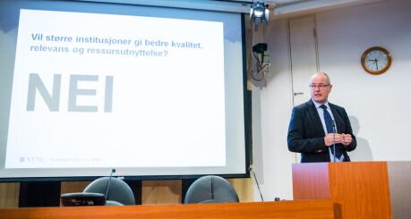NTNU-rektor foreslår kutt på 110 millioner