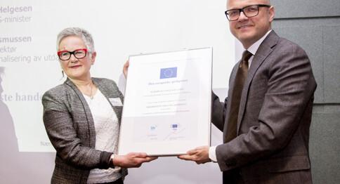 Lærerutdanning vant europeisk språkpris