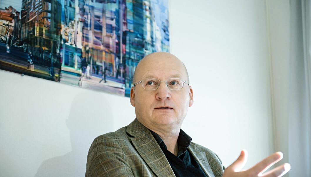 Dekan Dag Jenssen mener to fireårsperioder som dekan har vært passelig lenge. Foto: Cicilie S.Andersen