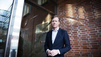 OsloMet-rektor, Curt Rice.