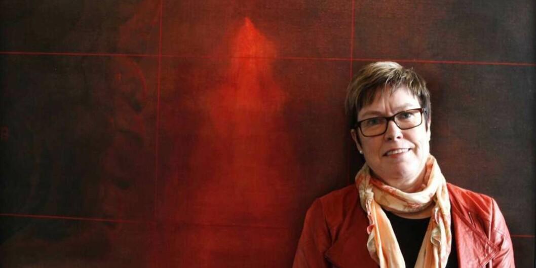 Jeg føler meg veldig krenket og lei meg over dette, sier rektor Maj-Britt Johansson. Foto: GefleDagblad