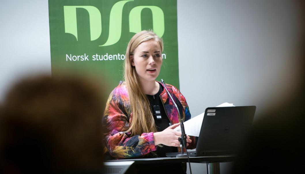 Therese Eia Lerøen fra Høgskolen i Oslo og Akershus gleder seg til debatt mot Tommy Aarethun fra Universitetet i Bergenlørdag.
