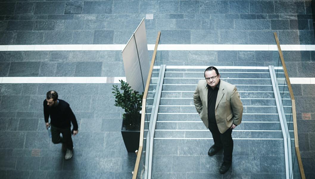 Arne Krumsvik hadde 12 tellende publikasjoner i 2014, og er på høgskoletoppen i antall poeng med sine10,6. Foto: Cicilie S. Andersen