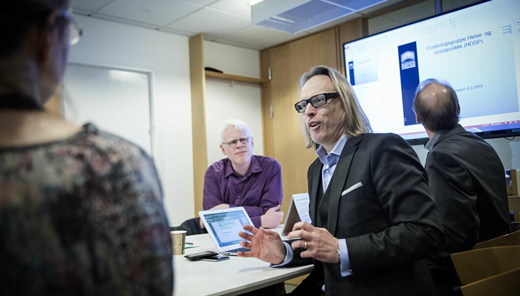 Forskningsdirektør Morten Irgens har frontet saken om overdragelse av to nye forskningsinstitutter til Høgskolen i Oslo ogAkershus.
