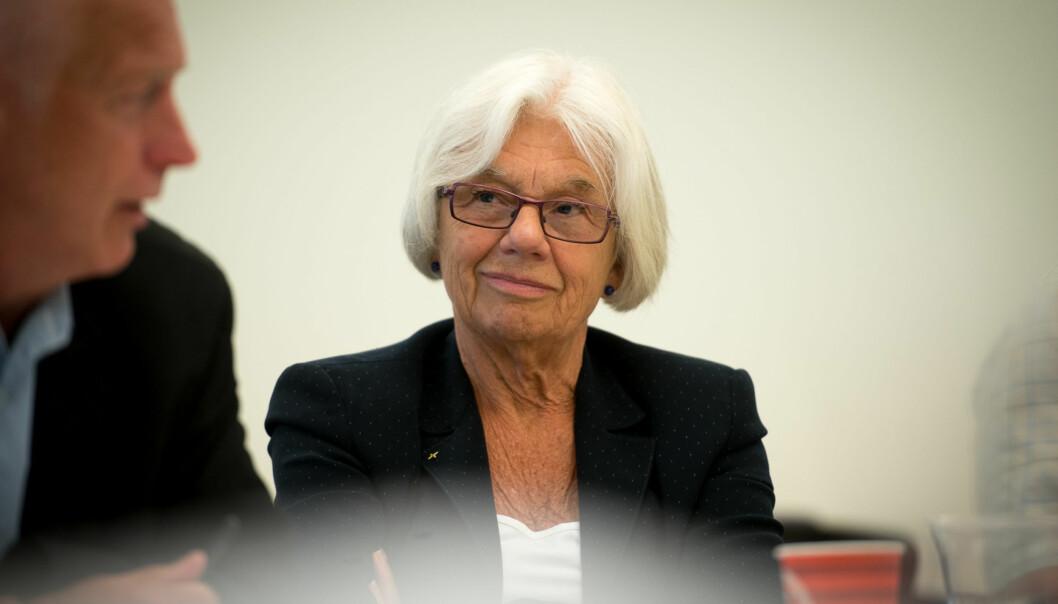 Professor Agneta Bladh leder prosessen som skal føre til ny ansatt rektor ved Høgskolen i Oslo ogAkershus.