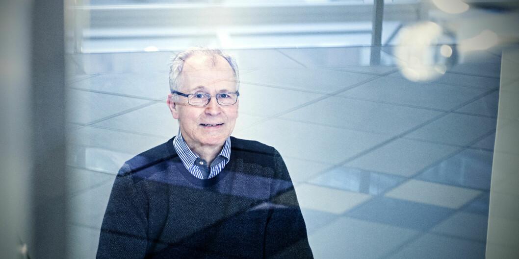 """Bjørn Hvinden, leder av Den nasjonale forskningsetiske komité for samfunnsvitenskap og humaniora (<span class=""""caps"""">NESH</span>), oginstituttdirektør for<span class=""""caps"""">NOVA</span>på Høgskolen i Oslo ogAkershus. Foto: Cicilie S.Andersen"""