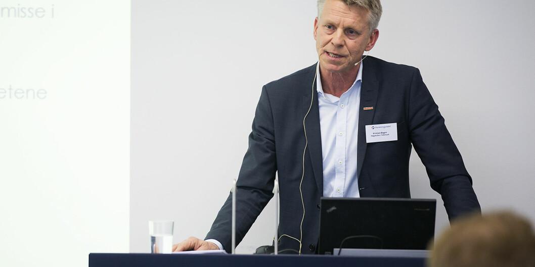 Det er kun én søker til stillingen som prorektor ved Høgskolen i Sørøst-Norge, og det er tidligere rektor ved Høgskolen i Telemark, Kristian Bogen. Han har også fungert i stillingen siden januar iår.